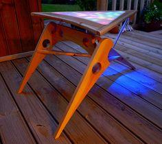 DIY TABLE | klingon coffee table DIY Klingon LED Coffee Table
