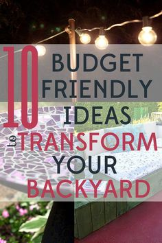 These 10 backyard ideas will help you transform your yard from dull to enchanting without breaking the bank! These 10 backyard ideas will help you transform your yard from dull to enchanting without breaking the bank. Large Backyard Landscaping, Backyard Ideas For Small Yards, Fun Backyard, Landscaping Ideas, Small Backyard Design, Florida Landscaping, Backyard Retreat, Outdoor Living, Outdoor Decor