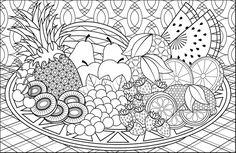 Geometric fruit bowl by Joanna Webster