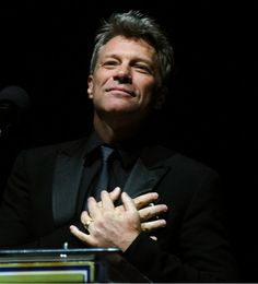 19-11-2014. Congratulations to our Chairman Jon Bon Jovi on receiving the prestigious 2014 Marian Anderson Award last night for his humanitarian work!