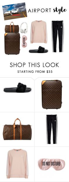 """""""Airport style"""" by moli01 ❤ liked on Polyvore featuring Puma, Louis Vuitton, Madewell, adidas Originals, BaubleBar, Beats by Dr. Dre, adidas, polyvorecommunity, polyvorecontest and polyvorefashion"""