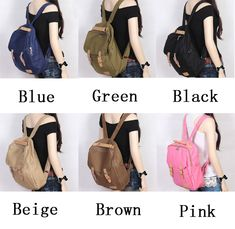 Finally! I found the Fashion Style Capacity Canvas Multifunction Backpack & Handbag & Shoulder Bag from ByGoods.com. I like it so so much!