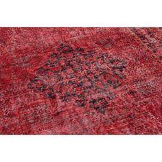 Rood vintage vloerkleed 280cm x 169cm