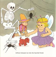 024 cliffords first halloween