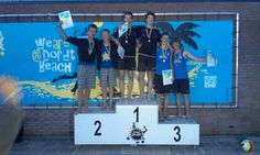 1e plaats bij de ranking in Dordrecht.14 juni