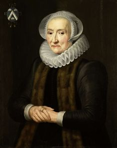 Portrait of Alid van der Laen, Wife of Maerten Ruychaver, copy after Michiel Jansz van Mierevelt, after 1653