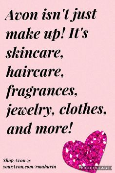 Shop Avon today at Www.youravon.com/rmahurin