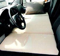 Sportsmobile Custom Camper Vans - Seats & Beds