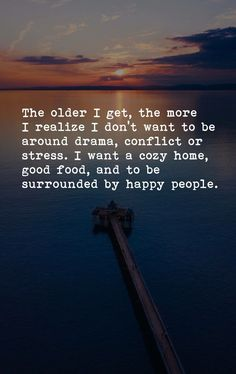 This explains why I'm isolated and alone. My life is bereft of happy people.