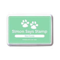 Simon Says Stamp Premium Dye Ink Pad MINT CANDY ink063 Splash of Color