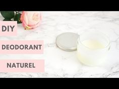 DIY: natural deodorant (simple and effective recipe) Diy Natural Deodorant, Diy Beauté, Green Life, Beauty Hacks, Beauty Tips, Place Card Holders, Coin, Zero Waste, Collagen
