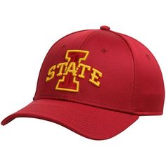 b1ed8c15b26 Iowa State Cyclones Rushmore Stretch Fit Flex Hat - Cardinal
