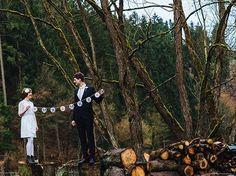 MR & MRS Girlande zur Hochzeit // wedding garland