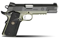 Springfield: 1911 Loaded MC Operator OD Green Armory Kote for sale at Sportsman's Outdoor Superstore. Springfield Armory 1911, Springfield Operator, Springfield Pistols, Airsoft, Colt M1911, Revolvers, 1911 Pistol, 45 Caliber Pistol, Tactical Gear