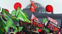 TTIP, een onderhandeling achter gesloten deuren, waarbij onze regels betreffende voedselveiligheid op het spel staan.