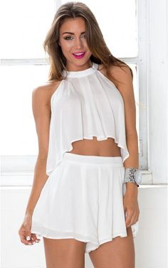 Elixir Two Piece Set in white Sexy Dresses, Short Dresses, New Ford Mustang, Co Ord Sets, Party Dresses Online, Online Dress Shopping, Two Piece Dress, Going Out, Cool Outfits