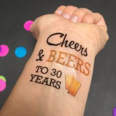 14 Beer-Inspired Party Ideas for a Very Hoppy Birthday via Brit + Co 30th Birthday Party Themes, 30th Party, 40th Birthday, 30th Birthday Ideas For Girls, Birthday Gifts, Birthday Sayings, Happy Birthday, Birthday Week, Birthday Images