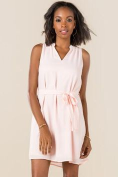Sloane Tie Waist Shift Dress accentuates smaller waists! And the tank top works well for all seasons here in SC