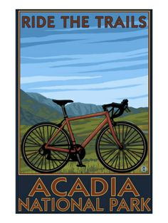 Sonora, California - Bicycle Tour of California: Retro Travel Poster Wall Art, Canvas Prints, Framed Prints, Wall Peels California Mountains, California Art, Sonora California, Livermore California, California Travel, Northern California, Acadia National Park, Grand Canyon National Park, National Park Posters