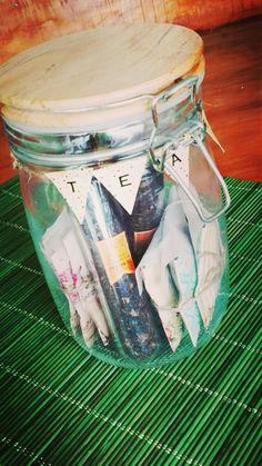 Tea in a Jar by Matices Té en Hebras