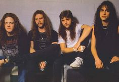 """Metallica  American Heavy Metal  The band's fast tempos, instrumentals, and aggressive musicianship placed them as one of the founding """"big four"""" of thrash metal alongside Slayer, Megadeth, and Anthrax"""