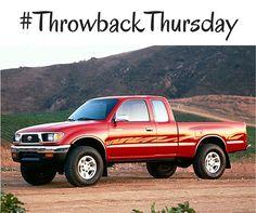 #TBT: 1995 #Toyota Tacoma SR5