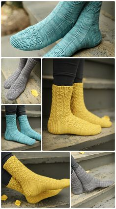 Ravelry: Changeful pattern by Hunter Hammersen. Beautiful! Three patterns in one, and I love all the versions!
