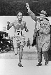 1928 Olympics Track and Field | Learn and talk about Boughera El Ouafi, Algerian marathon runners ... OS guld maraton 1928 Amsterdam.