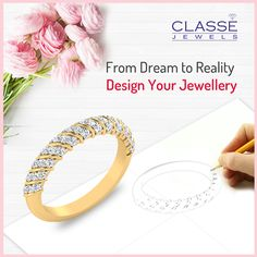 """#Wedding is a most special moment in Each one's life. For this moment you deserves to wear special #jewellery of your choice. By knowing your feelings we are introducing """"My Dream Wedding Jewellery Designing"""" concept- Just Click the link below and share your requirement we will be happy to make it come true !!! Design your #weddingjewellery and make it a special one and get the dream fulfilled before your wedding date-  For More detail visit@ https://www.classejewels.com/customjewellery.html…"""