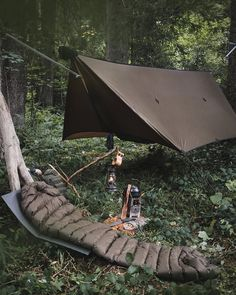 @ms_outdoor Bushcraft Gear, Bushcraft Camping, Backpacking Gear, Camping And Hiking, Camping Survival, Outdoor Survival, Tent Camping, Camping Hacks, Camping Gear
