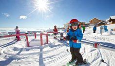 Die Skischule direkt beim Resort