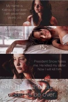 Hunger Games Quote / Mockingjay / Katniss    This one hurts