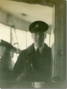 Hans von Schiller aboard Graf Zeppelin
