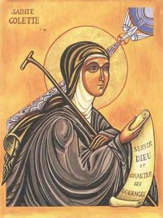 """Quote of the Day - February 7 #pinterest  """"If there be a true way that leads to the Everlasting Kingdom, it is most certainly that of suffering, patiently endured.""""  ~~~~~ St Colette of Corbie ~~~~~ (Saint of the Day)