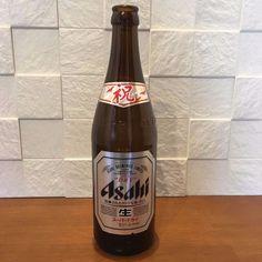 ASAHI SUPER DRY Empty Bottle Congratulation Label 500 ml