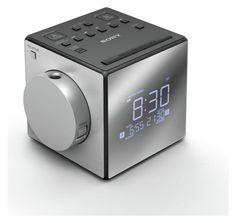 Sony #mirrored cube #clock #radio., View more on the LINK: http://www.zeppy.io/product/gb/2/331889138484/