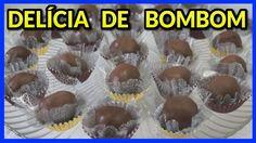 DELÍCIA DE BOMBOM (BOMBOM TIPO GOURMET)