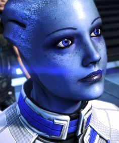 Mass Effect - Liara Mass Effect Characters, Vampire Masquerade, Mass Effect Art, Mass Effect Universe, Commander Shepard, Science Fiction Art, Sex And Love, Dragon Age, Aliens
