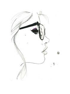 Das Nerdy Mädchen Drucken von original von JessicaIllustration