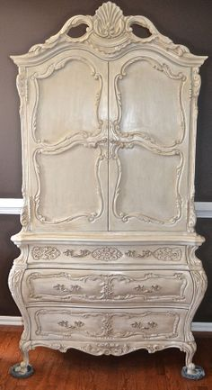 Antique Vintage Decor Romantic Vintage French Provincial Chest of Drawers Armoire Cabinet chic chifferobe ROCOCO Louis XVI - bustier lingerie, lsexy lingerie, women posing in lingerie *ad French Provincial Furniture, French Furniture, Shabby Chic Furniture, Antique Furniture, Furniture Decor, Furniture Online, Furniture Design, Painted Furniture, French Decor