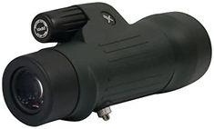 Xgazer Optics 10x50 Point View High Powered Monocular- Waterproof Bird Watching, Hunting, Fishing,Travel, Safari, Hiking, Monocular- Long Range, Eye-Relief Monocular w/Wrist Strap, Case and Cloth
