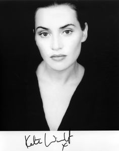 Kate Winslet...One of my favorite actresses and gorgeous!