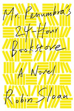 """""""24-Hour Bookclub is a reading flashmob. Every once and a while, we pick a book, read it in one day, and discuss it on the internet."""" The first book up is Mr. Penumbra's 24 Hour Bookstore"""