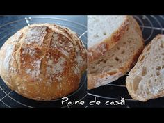 PAINE DE CASA - Reteta si trucuri pentru paine de casa 🥖 #painedecasa - YouTube Pastry And Bakery, Blog, Gluten, Bread, Youtube, Brot, Blogging, Baking, Breads