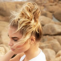 Balayage 2 Ors, Franck Provost, French Summer, Messy Bun, Summer Looks, Hair Inspo, Hairdresser, Hair Cuts, Hairstyle