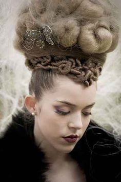Fashion Appropriation: Over the top, brit punk inspired hair styles.