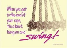 """This is a real card (not an e-card) shared from Sendcere. If you want to send this """"hang in there"""" card, click Visit Site."""