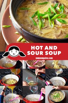 Hot and sour soup is a mainstay of Chinese restaurant menus, but you can make a one in less time than it takes for the delivery person to drive it over! Hot and sour soup is a mainstay of Chinese restaurant menus, but you can make a one in … Chinese Restaurant, Menu Restaurant, Restaurant Delivery, Paleo Whole 30, Whole 30 Recipes, Paleo Recipes, Soup Recipes, Paleo Ideas, Protein Recipes