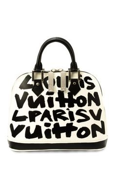 Vintage Louis Vuitton Alma Handbag