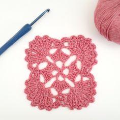 Japanese Crochet Motif